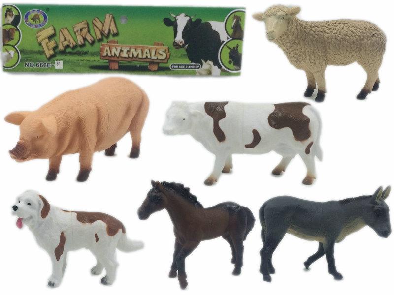 Farm Animals Toy Animal World, Farm Animal Figurines
