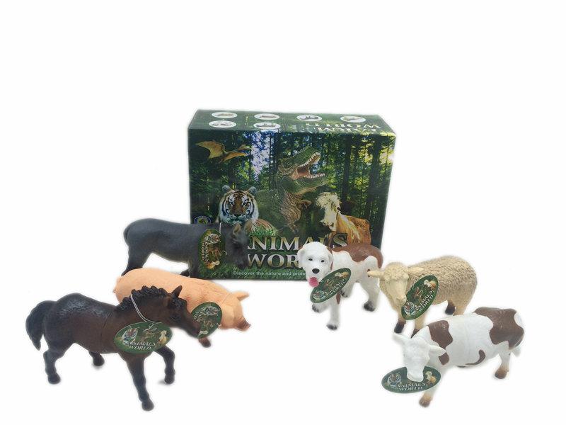 Vinyl animal toy farm animals toy animal figurines toy