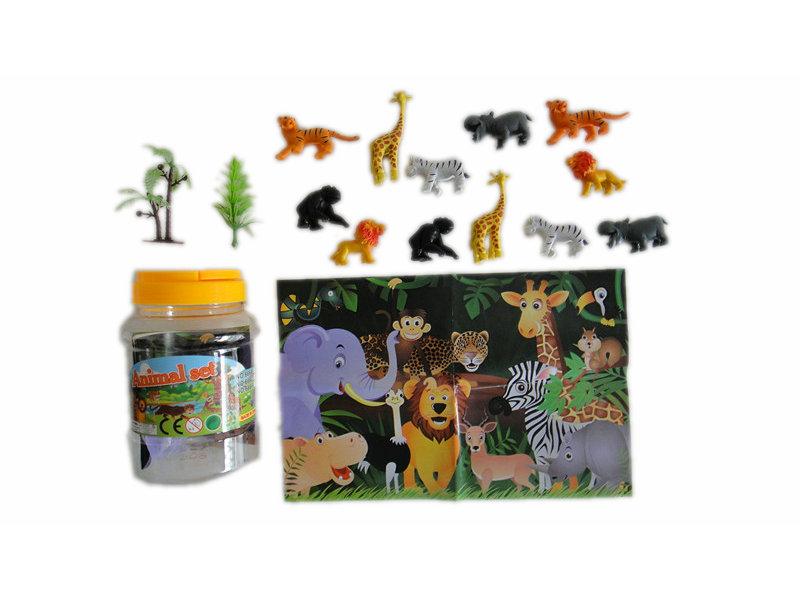 5cm animal toy wild animals toy set animal world