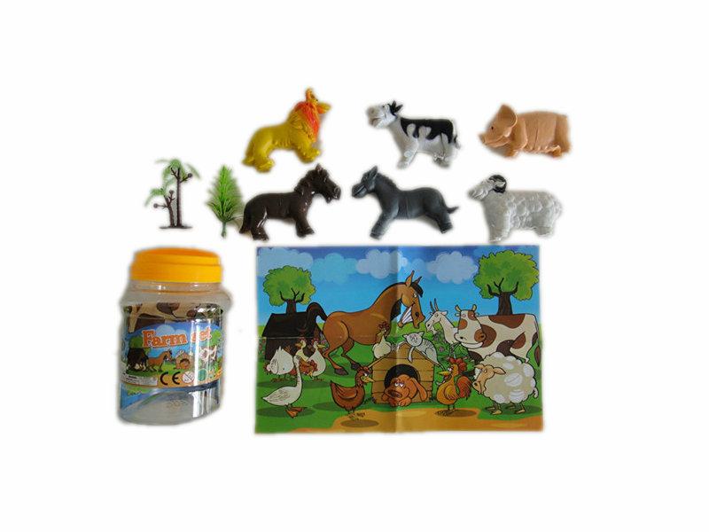 12pcs farm animal set animal figurines toy animal world