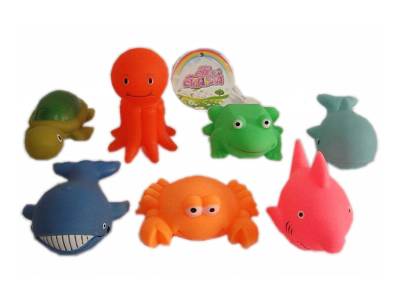 Sea vinyl animal 7pcs animal set animal figurines toy