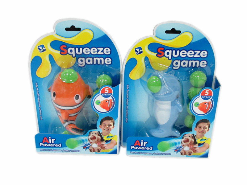 Squeeze game toy animal shooter toy cartoon toy