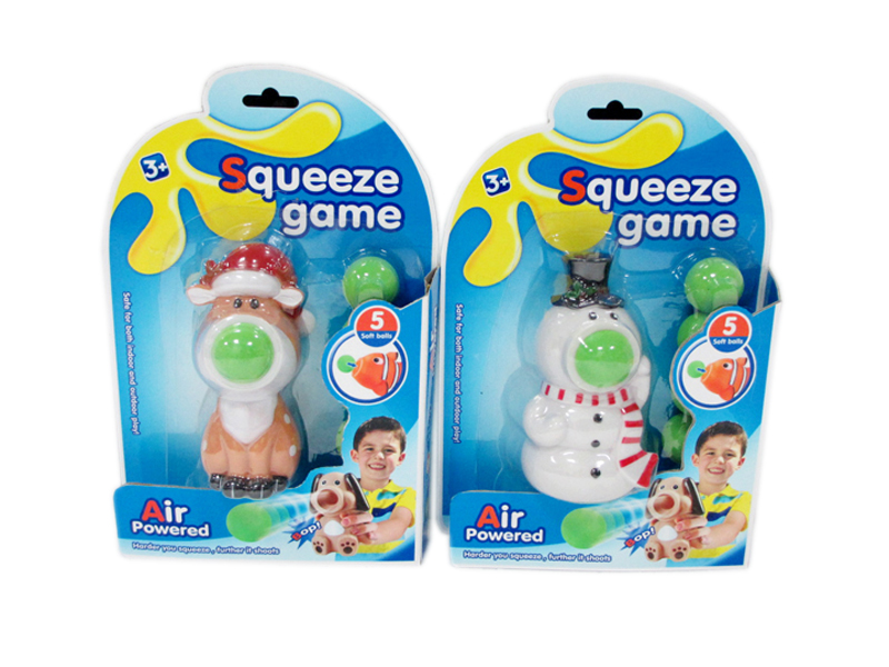 Animal shooter toy cartoon toy squeeze game