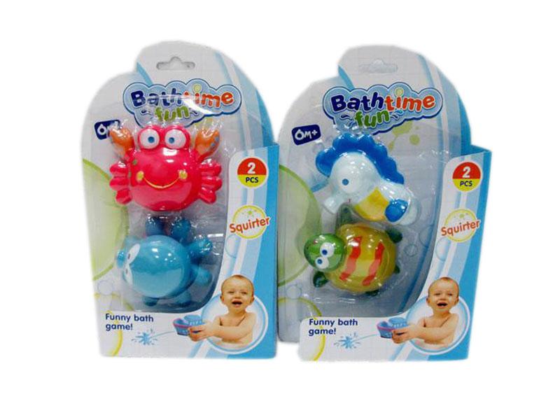 Squirter bathtoy animal bath toy cartoon animal toy