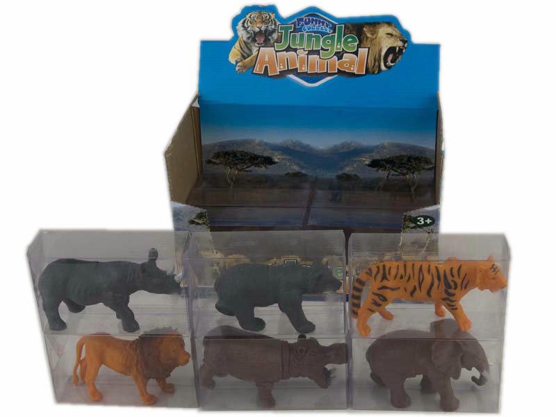 Jungle animal toy animal set toy animal world