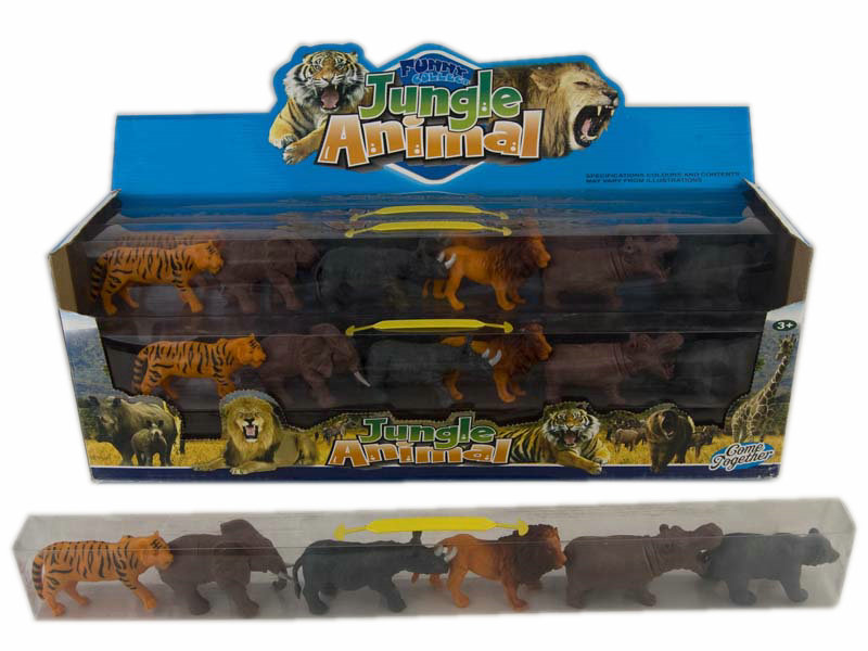Jungle animal toy animal set toy animal world