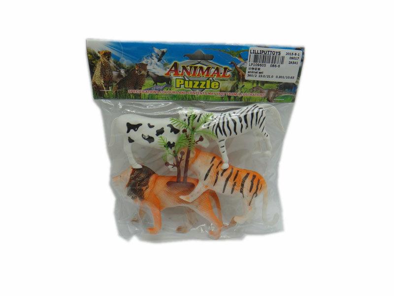 Animal kingdom toy wild animal toy cartoon toy