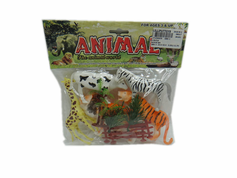 Animal model toy animal set animal kingdom toy