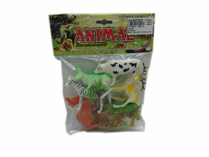 Farm animal model animal set toy animal kingdom toy