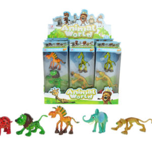Cute animals toy funny toy animal toy set