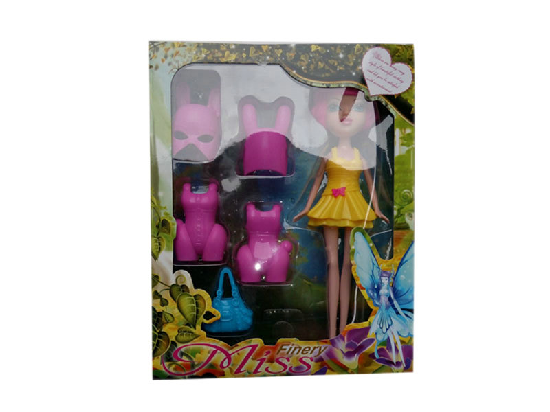 Doll toy assembly doll suit funny toy