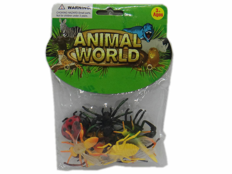 2 inch animal toy wild animal funny toy