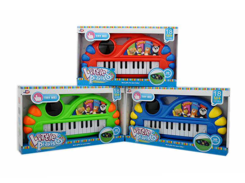 Electronic organ toy musicial toy cartoon piano