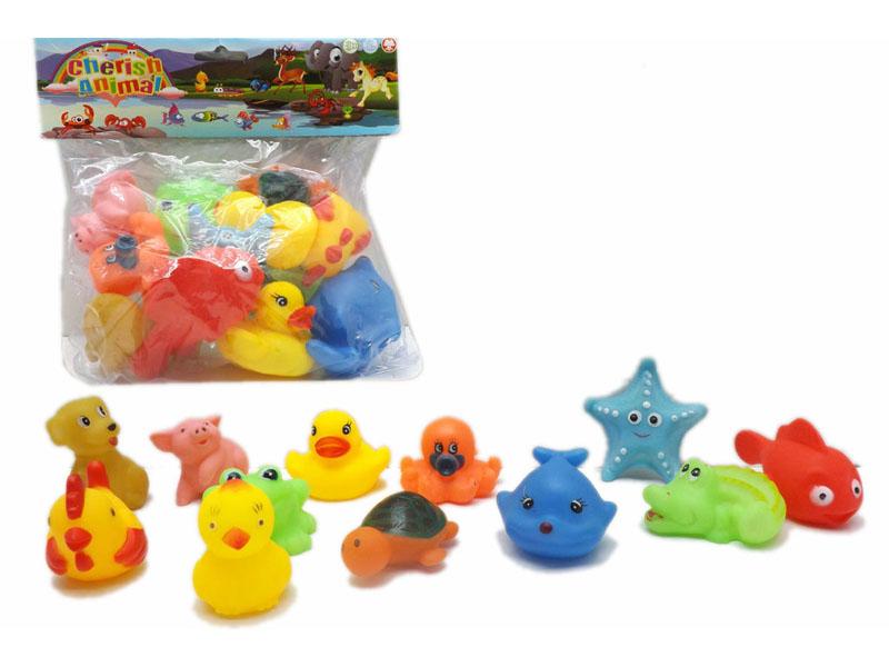 1.5 Inch animal vinyl anima toy cartoon toy