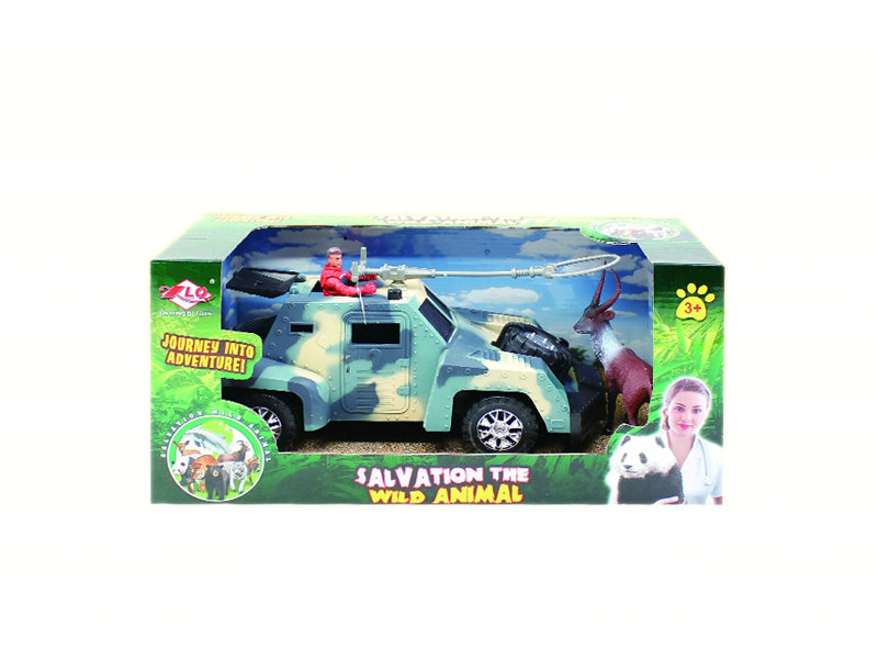 salvation toy animal rescue set salvation car toy