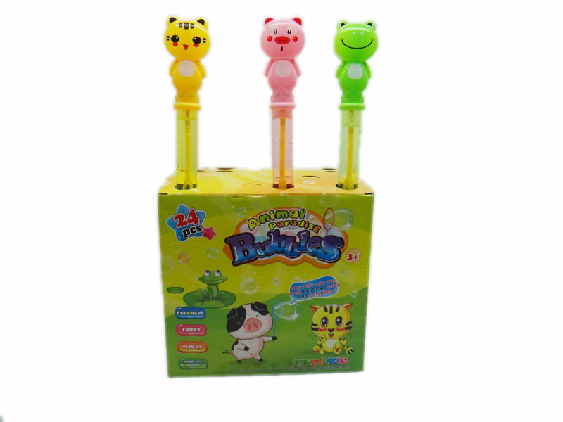 Bubble stick toy animal stick cartoon toy
