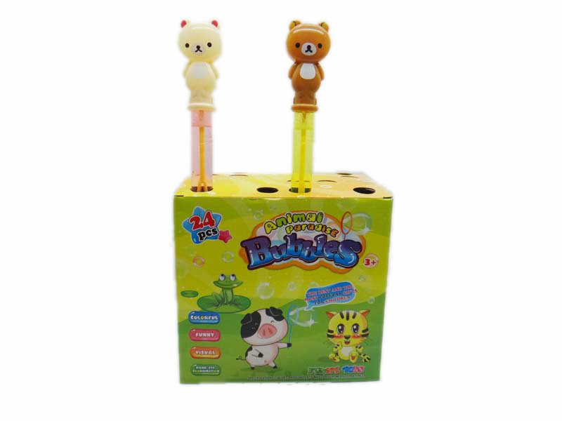 Bubble stick toy animal stick cartoon toy