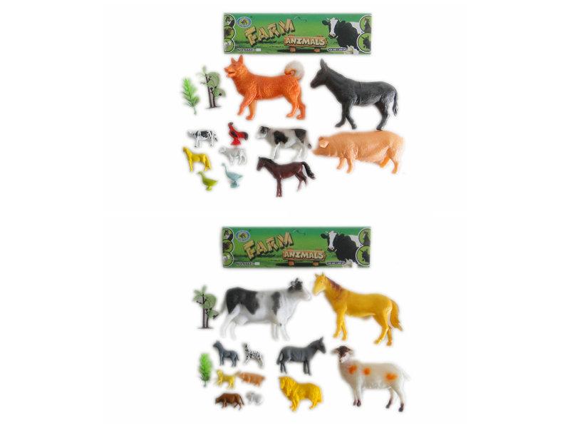 11pcs farm animals toy animal world Toy animal set