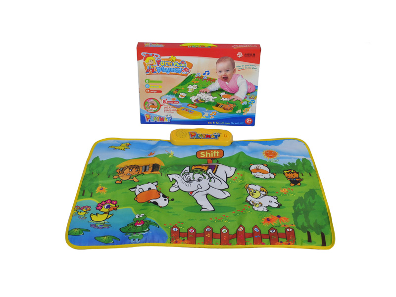 Music playmat animal playmat baby toy