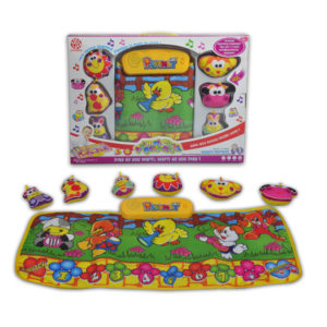 playmat toy Animal hopscotch mat baby toy