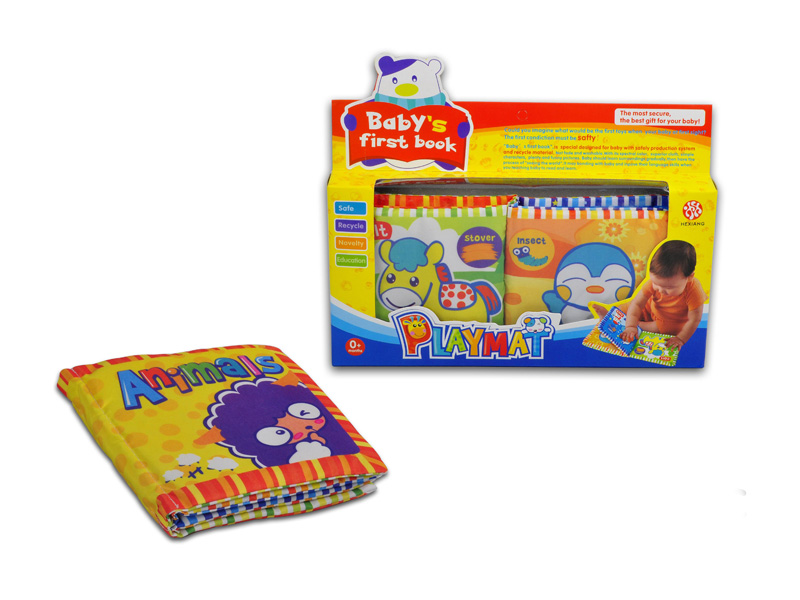 Cloth book fabric book toy educational toy