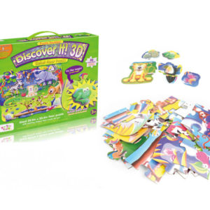 Puzzle game toy 3D animal puzzle intelligence game
