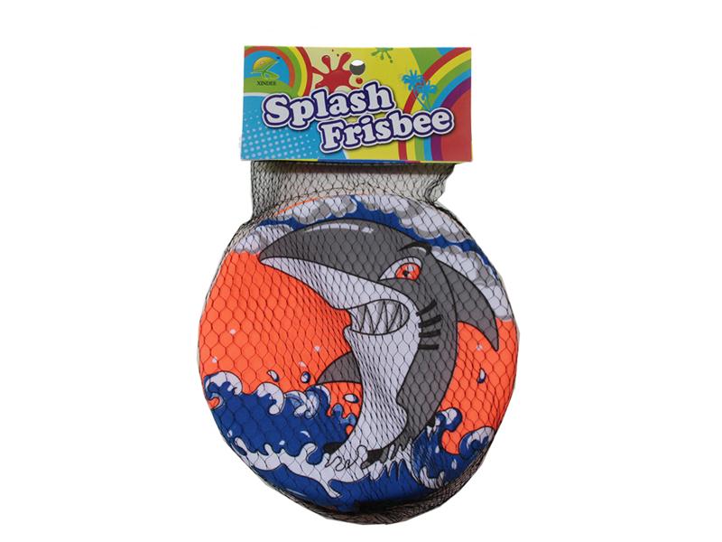 Shark frisbee toy animal frisbee beach toy