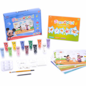 Finger painting set mickey drawing toy DIY toy