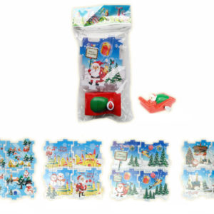 Christmas puzzle toy car puzzle promotion toy