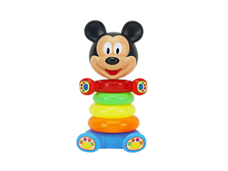 Jenga toy stack cup toy mickey cartoon game