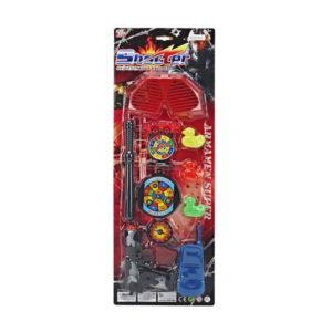 Gun set toy shooter gun game dart game toy