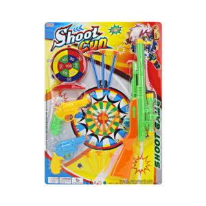 Soft air gun shooting game toy dart game toy