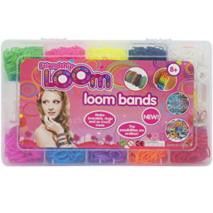 Rubber band loom band toy girl beauty toy
