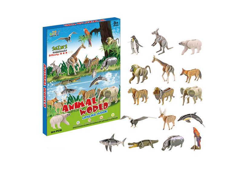 puzzle toy 3D animal puzzle animal toy set