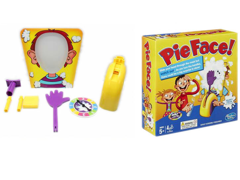 Pie face game funny game toy table game toy