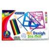 Drawing template series educational toy DIY toy