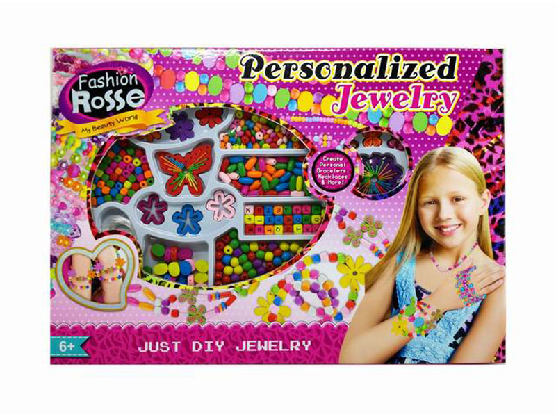 Beads set toy girl beads toy beauty toy