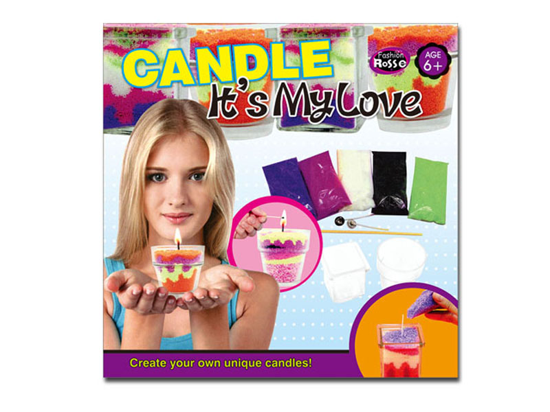 Sand candles toy educational toy DIY toy