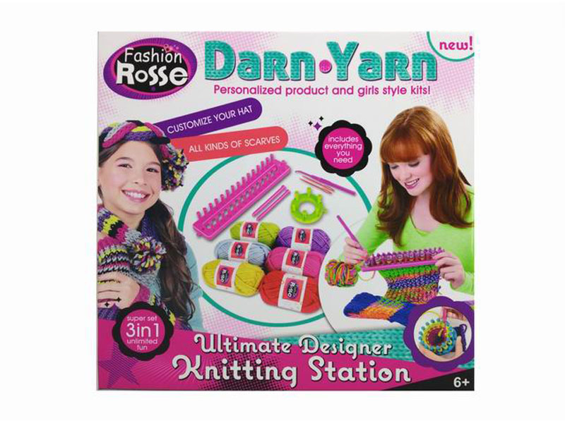 Wool weaver toy DIY darn toy educational toy
