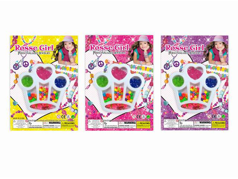 Crown beads beauty toy beads toy
