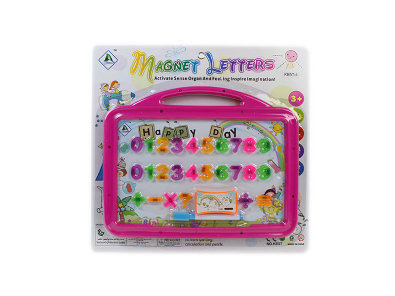 Letters drawing board Magnetism magnet toy educational toy