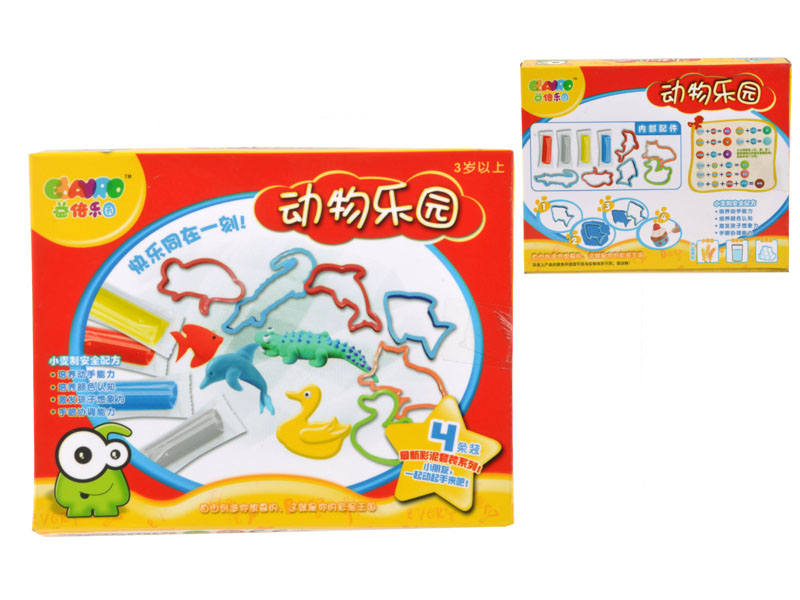 Color dough DIY toy clay toy with mould