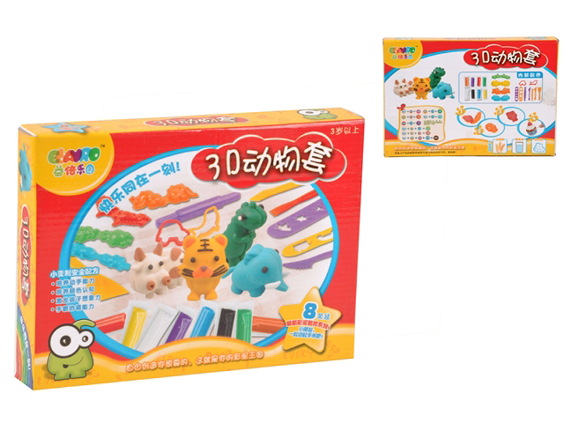 Color dough set DIY toy clay toy with mould