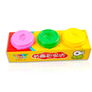 3 color dough toy clay play toy educational toy