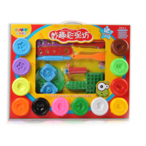 clay toy with tool 12 color dough educational toy