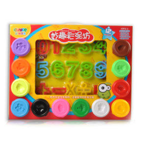 color dough with tool clay toy educational toy