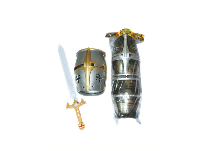 Sword toy army cap and knight toy pretend toy