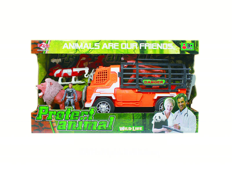 Animal rescue set animal world rescue toys play set