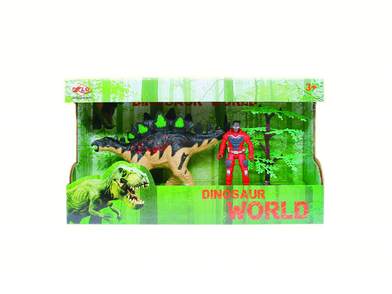 Dinosaur suit toy dinosaur world animal toy set