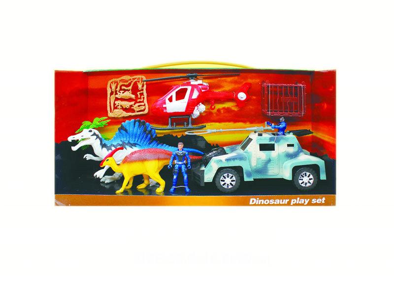 Rescue toys set dinosaur rescue set dinosaur toy with car